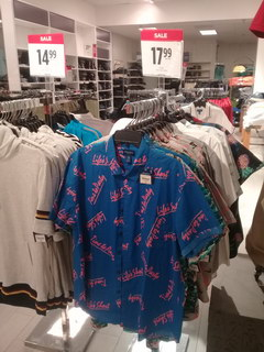 Prices in the USA for clothes, Summer shirts