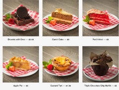 American Burger in London, Desserts