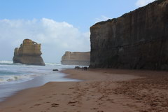 ​​The Great Ocean Road in Australia, Ahead of the famous stone blocks
