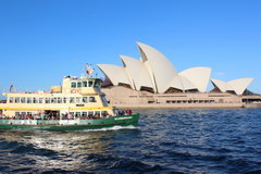 Sights of Sydney, Ferries of Sydney is a real attraction