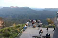 Excursions from Sydney, Convenient observation points in the Blue Mountains park