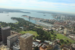 What to see in Sydney, View of the bay from the TV tower