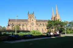 Sights of Sydney, St. Mary's Cathedral in Sydney