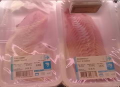Food prices in Brussels, fish prices