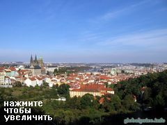 Holiday in Prague, View from the Visegrad