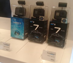 ​​Prices at Incheon Airport in South Korea, GoPro cameras
