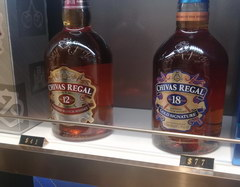 Цены в аэропорту Инчхон в Duty Free, Chivas Regal