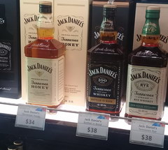 Prices at Incheon Airport in Duty Free, Jack Daniels