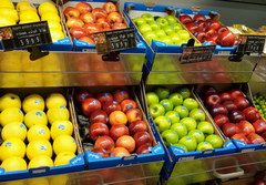 Food prices in Lebanon in Beirut, Prices for apples