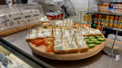 Food prices in Lebanon in Beirut, Cheese on trial