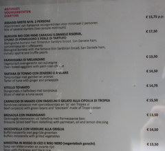 Dining and Drinking in Amsterdam in the Netherlands, Prices for main dishes in a cafe