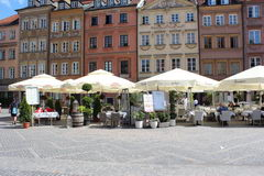 Prices in Warsaw in Poland, Restaurants on the square in the downtown