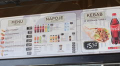 What you can eat in Warsaw in the store, Fast food outside