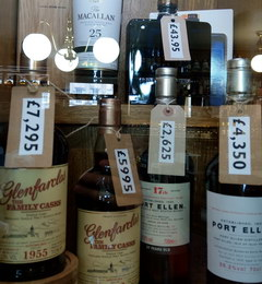 Whiskey in Scotland, Collectible whiskey