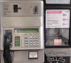 Various services in Scotland, Payphone