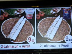 Prices in Turkey in Antalya for food, Meat cakes