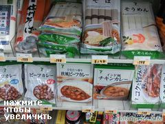 Food prices in Japan, ice noodles cost